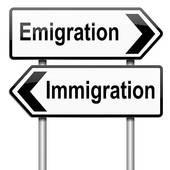 immigration v emigration