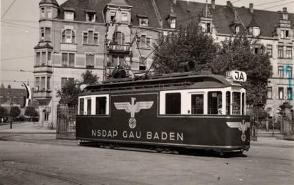 nazi tram