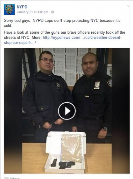 nypd gun confiscation