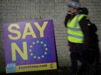 say no EU