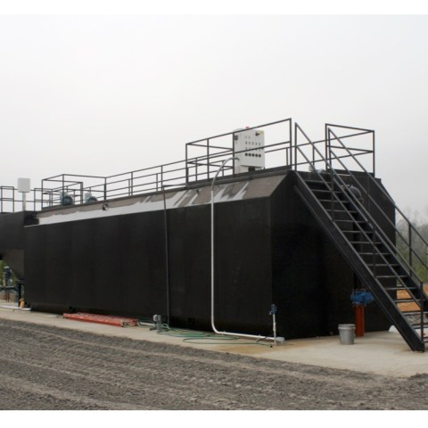Prefabricated SteelSsecondary Treatment System