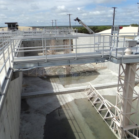 Kusters Solids Contact Clarifier Plant - Georgetown TX