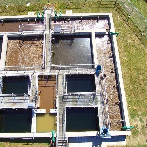 Saint George, Kansas Aero-Mod Wastewater Plant
