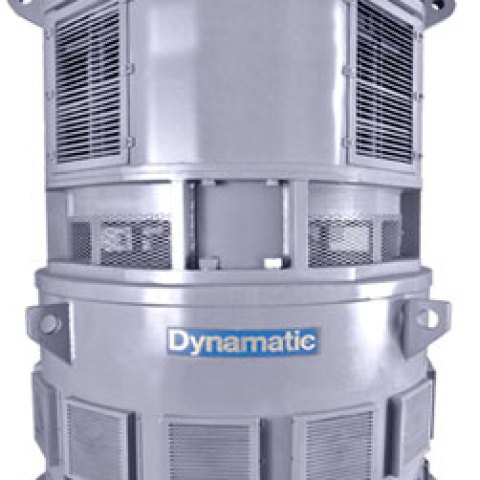 Dynamatic Salient Pole Eddy Current Drive