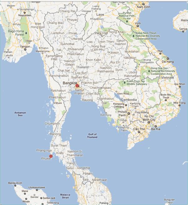 Thai flooding GLOBE Scientists39 Blog