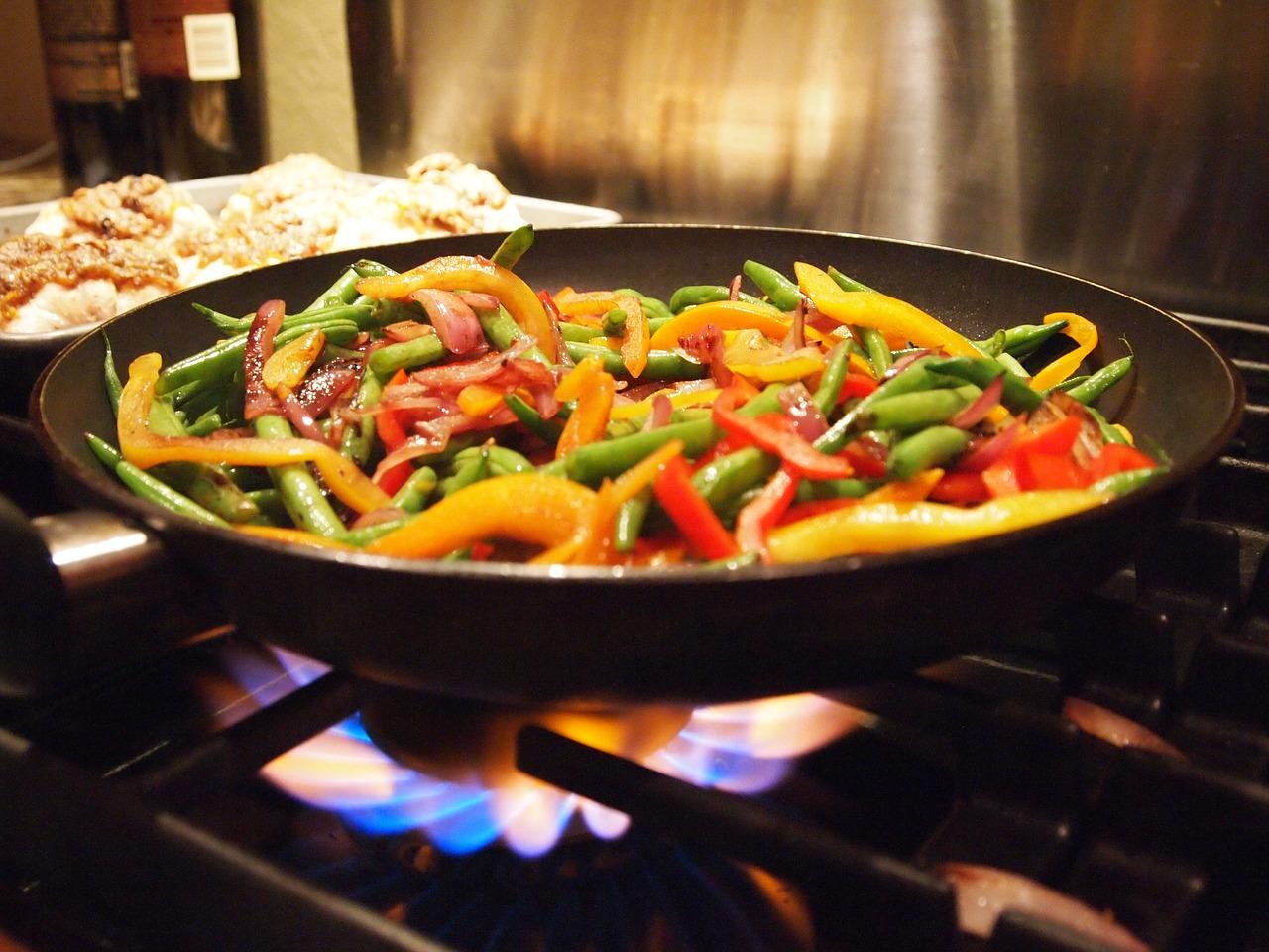 healthy frying of food