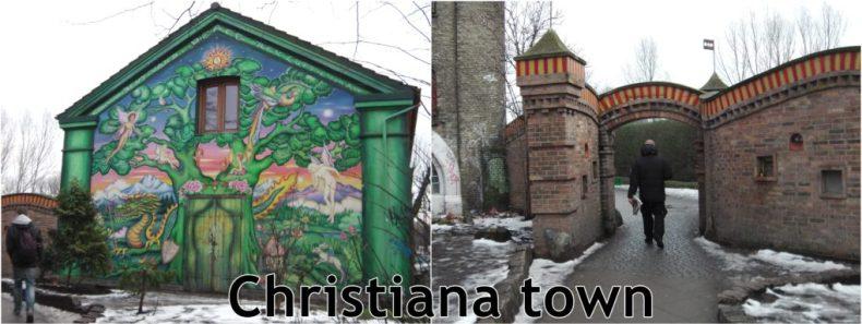 Christiana town Kopenhagen
