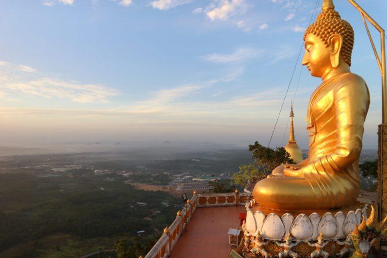 Tiger Cave Temple - reis door Thailand