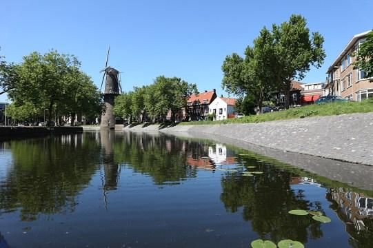 Molenroute door Schiedam