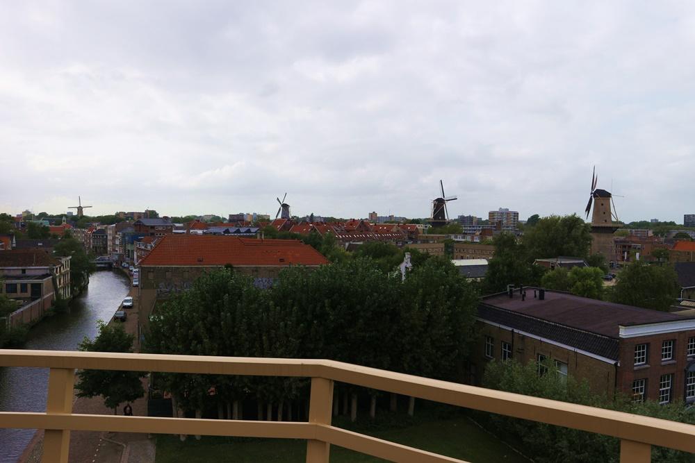 Wandel de historische Molenroute door Schiedam