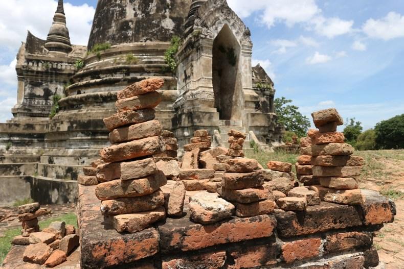 Ayutthaya route door Thailand