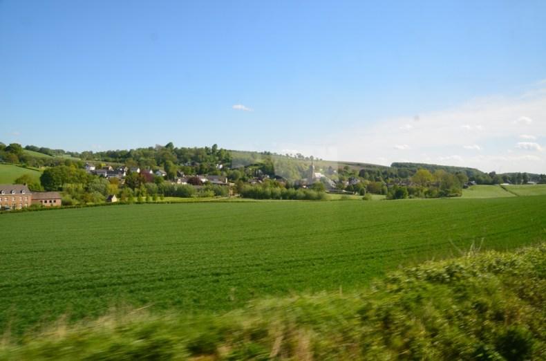 stoomtrein door Zuid-Limburg