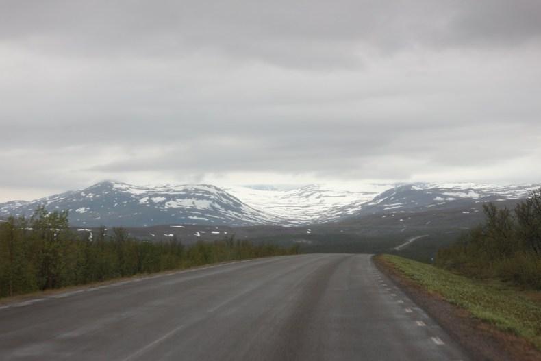 auto huren in Zweeds Lapland