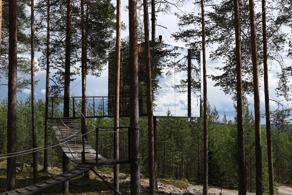 Treehotel in Zweeds Lapland [bucketlist item]