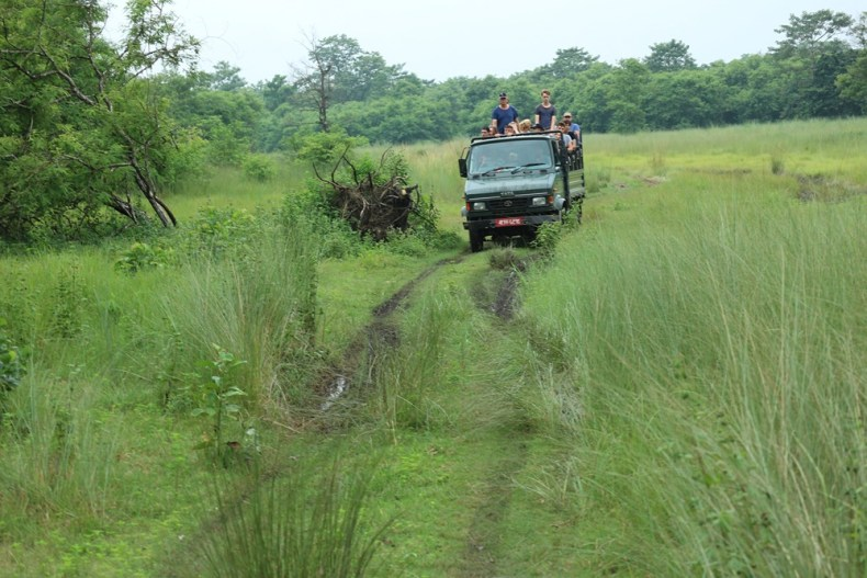 Jeepsafari in Chitwan