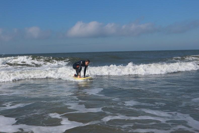 Surfen in Petten