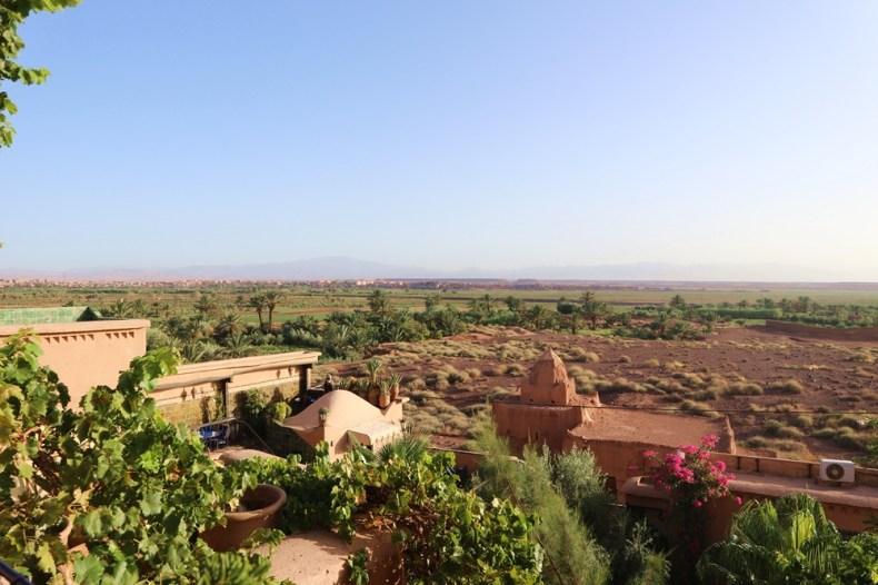 Route door Marokko