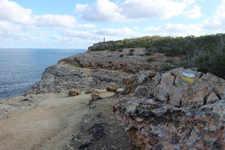 wandelen naar Punta Moscarter - Ibiza is meer dan een feesteiland