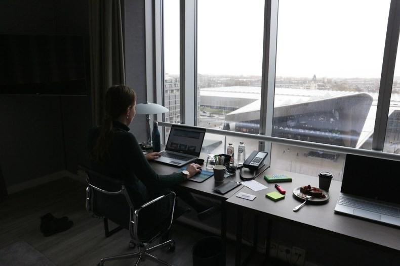 Marriot hotel Rotterdam voor thuiswerkers