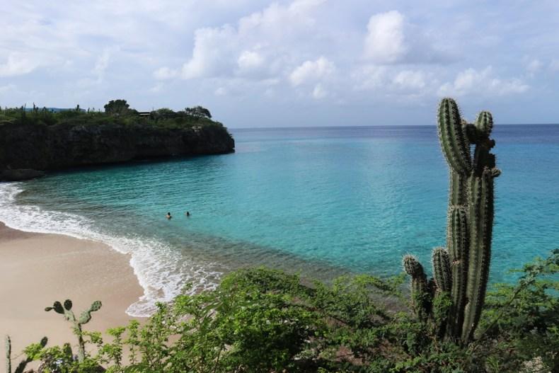 stranden op Curaçao