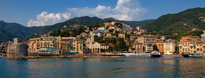 Rapallo A Ciudad Liguria Italia  costa de liguria