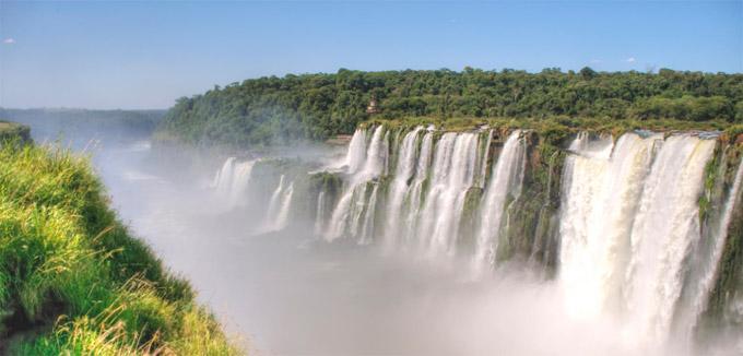 Iguaz Cascate dellIguaz Paran Brasile  parchi Iguaz  parco nazionale Iguaz  parco