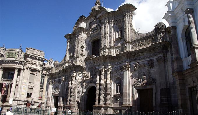 Quito Church Of The Society Of Jesus Ecuador Church
