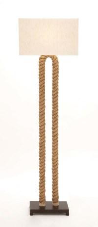 Rope Floor Lamp - Globe Imports