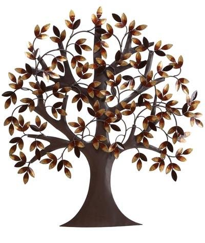 Metal Wall Tree Art Globe Imports