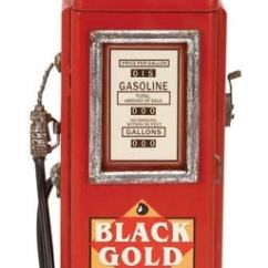 Kitchen Cabinets Wholesale Prices Outdoor Diy Vintage Gas Pump Cabinet With Clock - Globe Imports