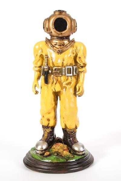 Deep Sea Diver Figurine  Globe Imports