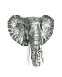 Elephant Head Wall Decor - Globe Imports