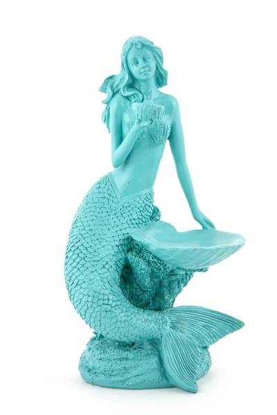 Mermaid with Sea Shell  Globe Imports