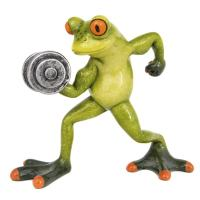 Frog Weightlifter - Globe Imports