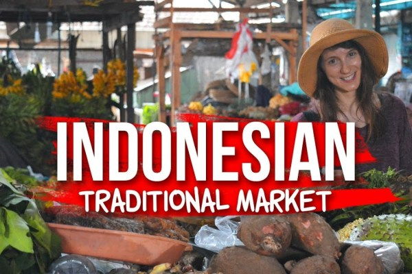 Indonesian Traditional Market