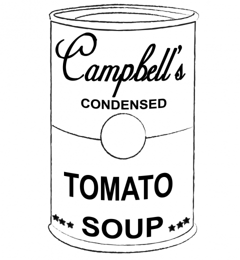 Soup Can Coloring Page Best Of Soup Can Coloring Page And