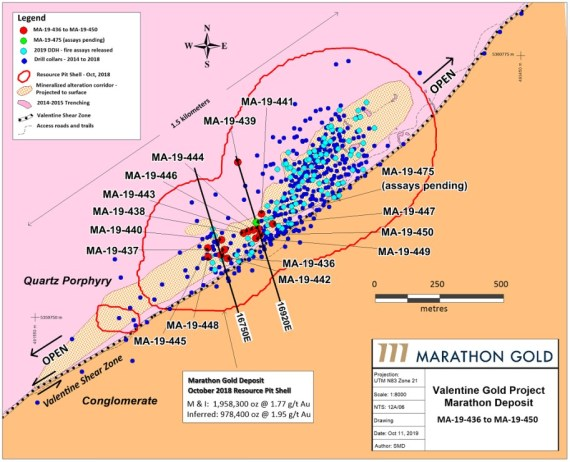October 17, 2019 Drill Map