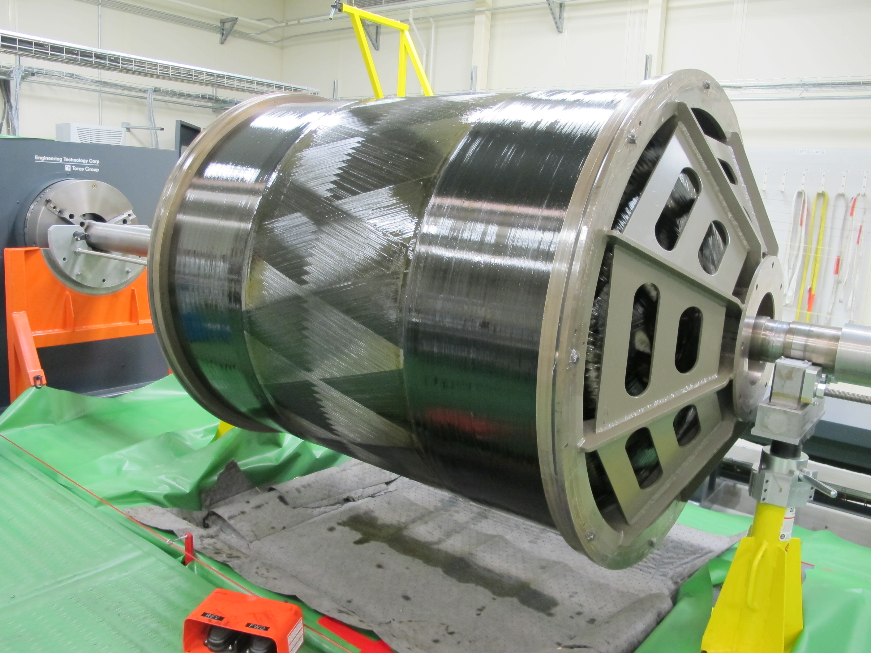 Aerojet Rocketdyne Large Solid Motor Carbon Fiber Case Example
