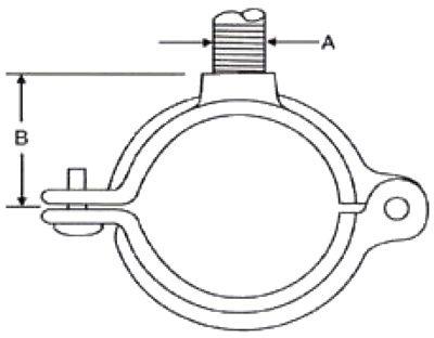 Series 721 Hinged Split Ring Hanger Archives • Globe Pipe