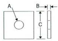 Series 725 Concrete Insert Nut Archives • Globe Pipe Hanger