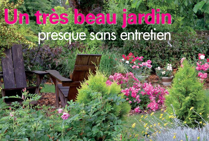 Globe planter  Un trs beau jardin presque sans entretien