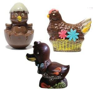 Glober Dolciaria animaletti di cioccolato