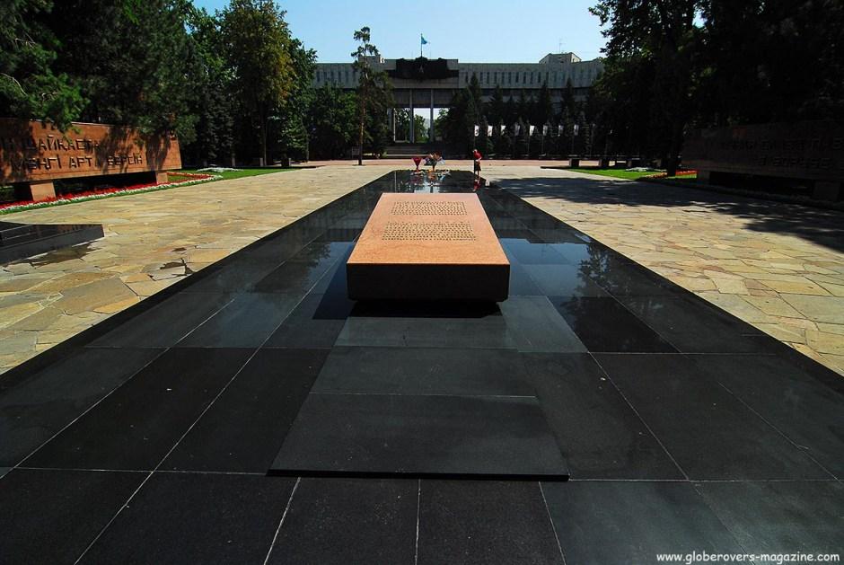 War Memorial, Panfilov Park, Almaty, Kazakhstan