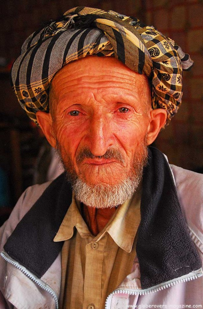 Portraits - Old man in Village of Shughnan, Afghanistan