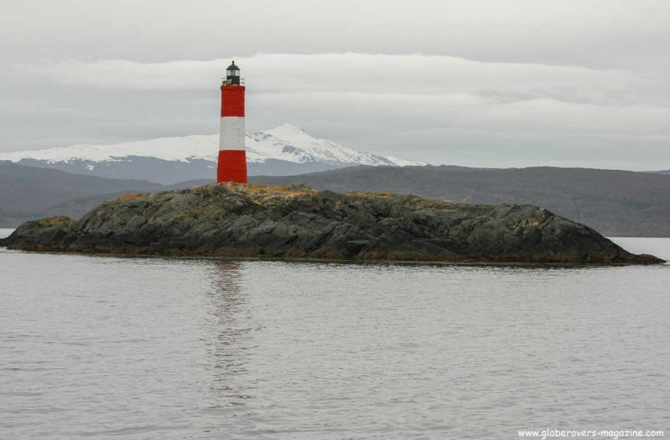 Les Eclaireurs Lighthouse, Beagle Channel, Ushuaia, Argentina