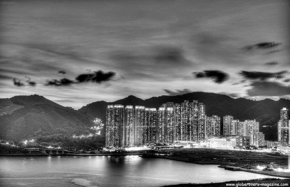Tiu Keng Leng as seen from Lohas Park, the New Territories, HONG KONG