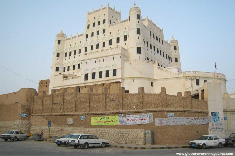 Sultan's palace, Sayun, Hadramawt Valley, Yemen