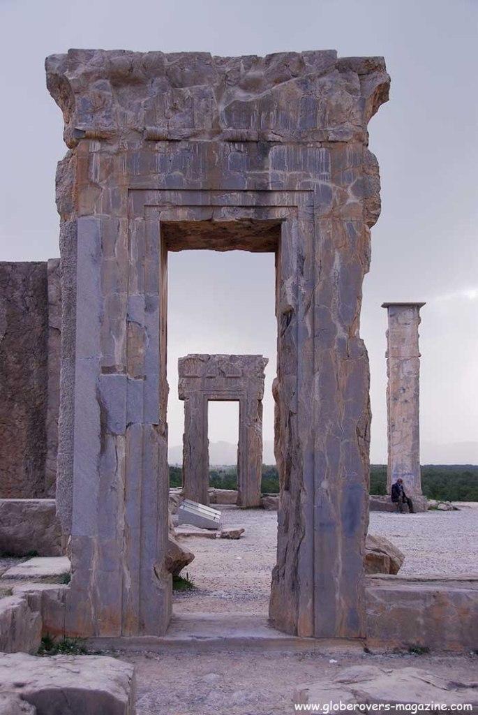 Palace of Xerxes, Persepolis, Iran