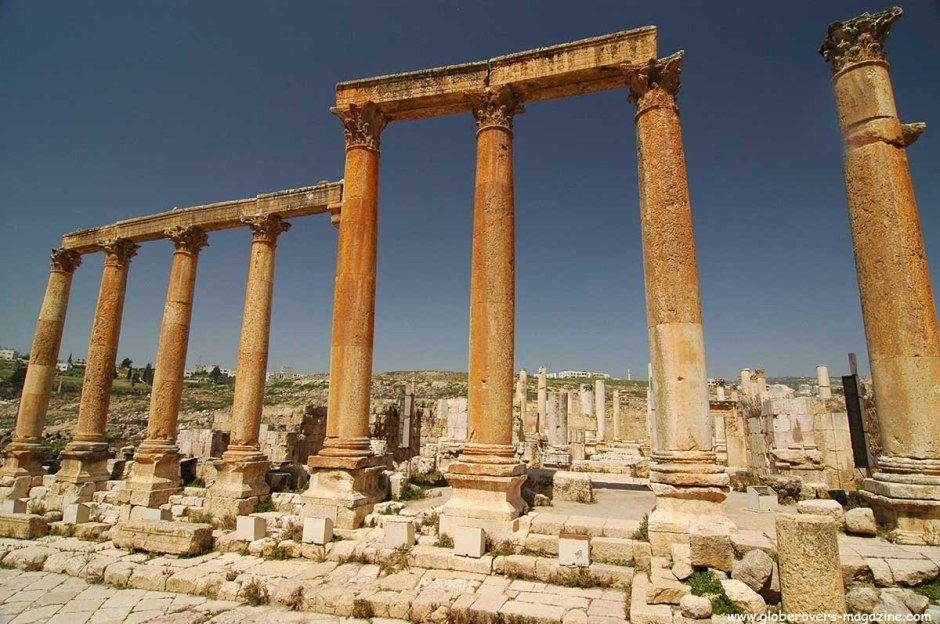 Cardo Maximus, Jerash, Amman
