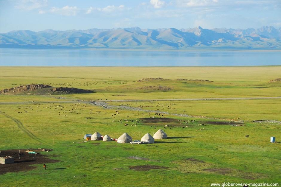 Around Song-kul Lake, Kyrgyzstan